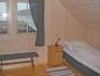 Schlafzimmer in den Ferienhäusern 1 + 2