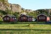 Årikvsand Kystferie: drei kleine Ferienhütten