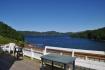Ausblick über den Fjord