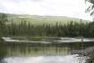 Angeln am norwegischen Fluß