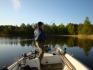 mit dem Angelboot zu den Fanggründen