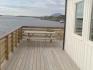 super Terrasse mit Fjordblick