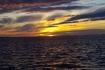 Sonnenuntergang in Blomsø