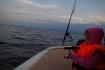 Kinder angeln in Norwegen