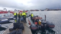 Bolga Abreise mit dem Boot