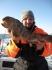 angeln auf Steinbeisser in Dåfjord