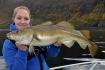 Fischbild_Betty mit Dorsch