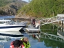 Filetierplatz innen und aussen Efjord Sjohus