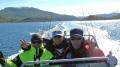 super Truppe bei Traumwetter Efjord Sjohus