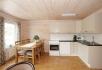 Efjord Sjøhus Ferienhaus 1-2: große Küche