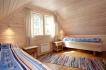 Efjord Sjøhus Ferienhaus 1-2: Schlafzimmer mit Einzelbetten
