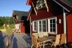 Efjord Sjøhus Ferienhaus 1-2: Terrasse