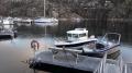Bootssteg in Efjord