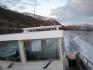 Kabinenboot in Fahrt
