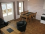 Efjord Sjøhus Ferienhaus 4: Blick auf den Essbreich