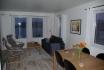 Eidet Havfiske Appartement 2: Couchecke und Sitzbereich