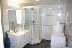 Eidet Havfiske Appartement 3: Badezimmer