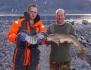 zwei Angler mit Agelerfolgen