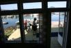 Fagervika Ferienappartement Nr. 2: Blick nach draussen auf den Bootssteg