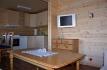 Foldvik Brygge Küche mit Essbereich