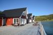 Ferienhäuser am Meer in Frovåg Senja