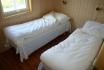 Gardsøya Ferienhaus Nr. 2: Schlafzimmer mit Einzelbetten