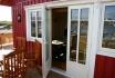 Gardsøya Ferienhaus Nr. 5: Terrasse mit Traumblick