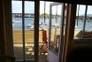 Gardsøya Ferienhaus Nr. 6: Terrasse mit Fjordblick