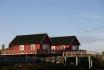 Gardsøya Ferienhaus Nr. 6: Außenansicht bei herrlichstem Norwegenwetter