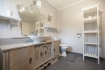 Rotsund Seafishing großes Appartement: Badezimmer