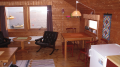 Wohnzimmer mit Fjordblick