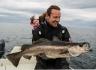 Hasvag Fiske Fischen mit Kleinkind