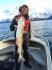 glücklicher Angler aus Norwegen
