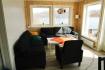 Helgeland Fjordferie Haus 1: Couchecke mit tollem Ausblick