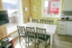 Helgeland Fjordferie Haus 1: Küche mit Esstisch