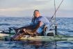 Meterbutt vom Kayak aus in Roan