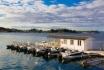 Nordskot Brygge Boote und Filetierhaus