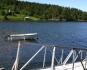 Bootssteg am Fjord