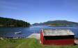 Blick über den Fjord - Norwegen pur