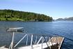 Bootssteg am Hausfjord