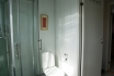 Ferienhaus Nr. 1: Badezimmer mit Dusche