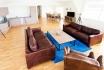 Wohnbereich im Appartement Sklinna