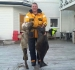 Leka Brygge happy Angler