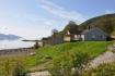 Blick auf die Ferienhäuser in Liland Sjøhus
