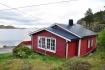 Traumlage in Norwegens Landschaft auf den Lofoten