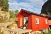in die Natur integriertes Ferienhaus