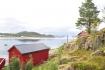 toller Blick über den Fjord