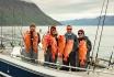 Boot voller Rote Loppa Havfiske