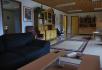 Ferienhaus Loppa Haugen: Wohnzimmer