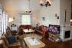 Lyngsalpan Cruise Lodge Wohnzimmer Haus Roedtind